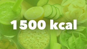 Dieta 1500 kcal